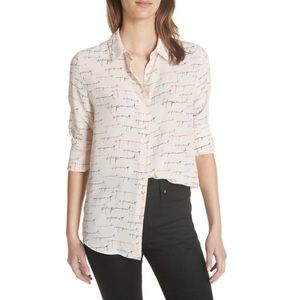 NWT Equipment Essential Silk Shirt ( ceramic)